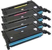 Compatible Samsung CLP-K600A Black CLP-C600A Cyan CLP-M600A Magenta CLP-Y600A Yellow Laser Toner Cartridge
