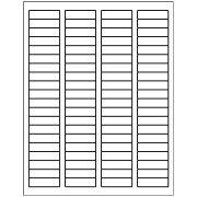 "Avery 5167, 0.5"" x 1.75"" Compatible Return Address labels, 80 Labels Per Sheet. 100 Sheets Per Pack. 8000 Labels"