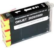 Okidata 52110001 Black 52110002 Cyan 52110003 Magenta 52110004 Yellow Compatible Inkjet Cartridge