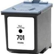 HP 701 CC635A Black Compatible Inkjet Cartridge
