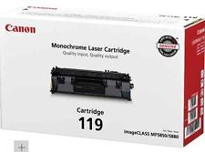 Canon 119 3479B001AA CRG119II CRG719 Genuine Toner Cartridge