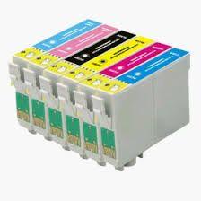 Epson 79 T079120 Black T079220 Cyan T079320 Magenta T079420 Yellow T079520 Photo Cyan T079620 Photo Magenta Compatible Inkjet Cartridge