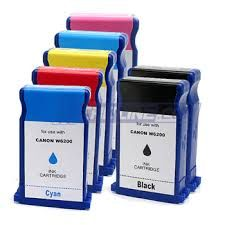Canon BCI1431BK Black BCI1431C Cyan BCI1431M Magenta BCI1431Y Yellow BCI1431LC Ligiht Cyan BCI1431LM Light Magenta BCI1451Y Yellow Compatible Inkjet Cartridge