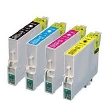Epson 60 T060120 Black T060220 Cyan T060320 Magenta T060420 Yellow Compatible Inkjet Cartridge