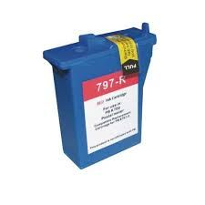 Pitney Bowes 797-0 797-M 797-Q 797-0B 797-0D 797-U Compatible Red Digital Postage Meter Ink Cartridge