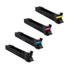 Konica Minolta 8938-701 TN312K Black, 8938-704 TN312C Cyan, 8938-703 TN312M Magenta, 8938-702 TN312Y Yellow TN312 Compatible Toner Cartridge