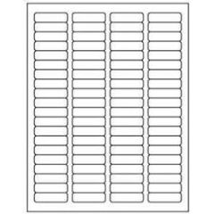 "Avery 5167 0.5"" x 1.75"" Compatible Alternative Easy Peel Address labels, 80 Labels Per Sheet. 100 Sheets Per Pack, 8000 labels"