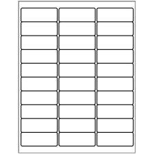 "Avery 5160 1"" x 2.625"" Compatible Alternative Easy Peel Address labels, 30 Labels Per Sheet. 100 Sheets Per Pack. 3000 Labels"