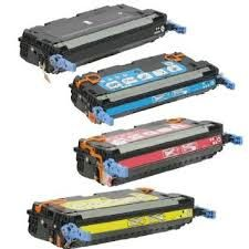 HP CB400A (642A) Black, CB401A Cyan, CB402A Yellow, CB403A Magenta Compatible Toner Cartridge