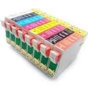 Epson 87 T087020 Gloss Optimizer T087120 Photo Black T087220 Cyan T087320 Magenta T087420 Yellow T087720 Red T087820 Matte Black T087920 Orange Compatible Inkjet Cartridge