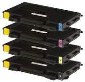 Compatible Samsung CLP-500D7K Black CLP-500D5C Cyan CLP-500D5M Magenta CLP-500D5Y Yellow Laser Toner Cartridge