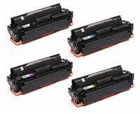 Canon 054BK 054HBK Black 054C 054HC Cyan 054M 054HM Magenta 054Y 054HY Yellow 054 054H Compatible Toner Cartridge