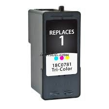 Lexmark 1 18C0781 Tri-Color Compatible Inkjet Cartridge