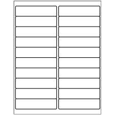 "Avery 5161, 1"" x 4"" Compatible Alternative Easy Peel Address labels, 20 Labels Per Sheet. 100 Sheets Per Pack. 2000 Labels"