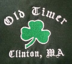 Old Timer Embroidered Sweatshirt
