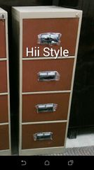 File Cabinet for Storage & Filing (4 Drawer - Tan Colour)