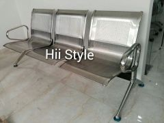 Waiting Bench Stainless Steel