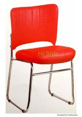 Metal Chair 214 Red