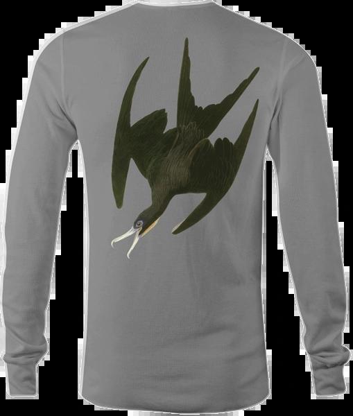Iwa Bird Long Sleeve Performance Polyester Shirt
