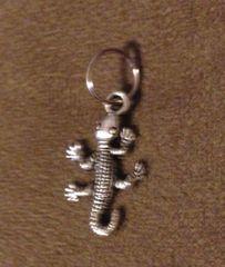 536. Gecko Chameleon Lizard Pendant