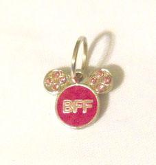 1274. Mickey-Minnie Head BFF Pendant