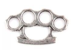 278. Brass Knuckle Pendant