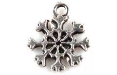 427. Small Silver Snowflake Pendant