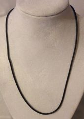 1005. Black Rubber Necklace