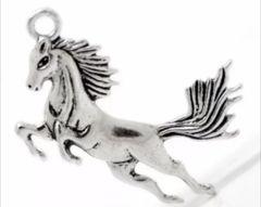 593. Large Running Horse Pendant