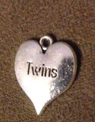 354. 'Twins' Heart Pendant