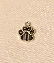 1741. Small Paw Print Pendant