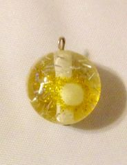 1609. November Birthstone Topaz Pendant
