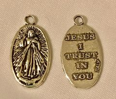 1644. Jesus I Trust in You Pendant