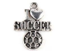 40. I 'heart' soccer Pendant