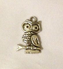 1229. Perched Owl Pendant