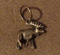 876. Moose Pendant