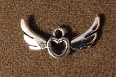 463. Heart with Wings Pendant