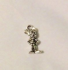 1271. Silver Mickey Pendant