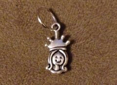 635. Princess Face Pendant