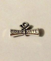 1393. Rolled Diploma Graduate Pendant