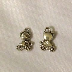 1189. Small Hello Kitty on Bike Pendant