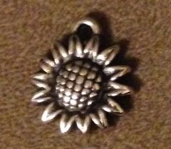 710. Acrylic Sunflower Pendant