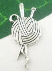 106. Clew of Yarn Pendant