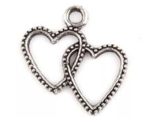 29. Double Heart Pendant