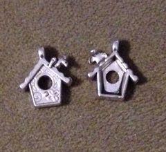 1130. Birdhouse Pendant