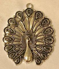 1809. Peacock Pendant