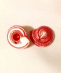 1561. 3D Shell Pendant