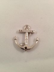 6. Tibetan Style antique silver 'love' Anchor Pendant without rope