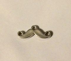 132. Silver Mustache Pendant