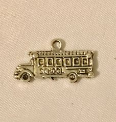 1641. School Bus Pendant